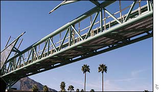 Lee R. Baxandall Bridge in Palm Springs California