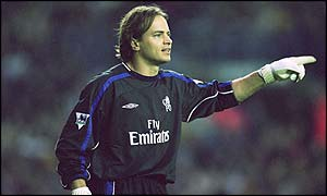 Former Chelsea goalkeeper Mark Bosnich