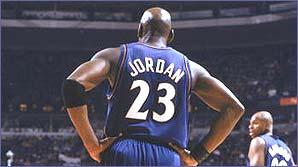 The famous Jordan 23