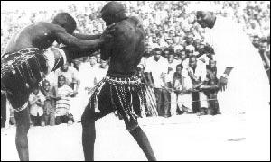 Wrestlers in Maradi