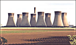 British Energy's coal fired power plant at Eggborough