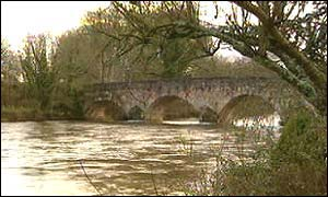 Bickleigh Bridge in east Devon