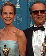 Jack Nicholson and Helen Hunt