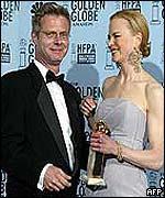 Stephen Daldry and Nicole Kidman