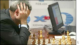 Garry Kasparov and Deep Junior