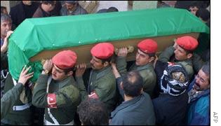 Funeral of Shawkat Haji Mushir