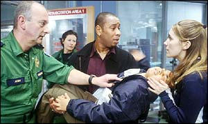 Casualty on BBC One