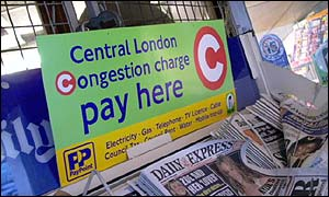 Drivers will soon have to pay to enter central London