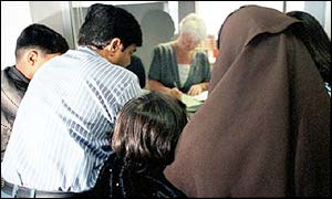 Asylum seeker family