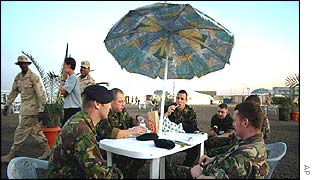 British troops in Kuwait
