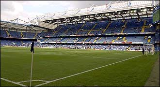 Stamford bridge - the home of Chelsea and possibly soon Fulham