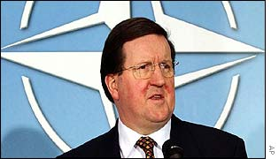 Nato Secretary General Lord Robertson 