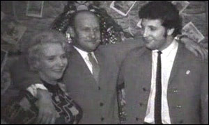 Tom Jones with his mother, Freda, and father Thomas