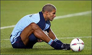 David James did not put club before country