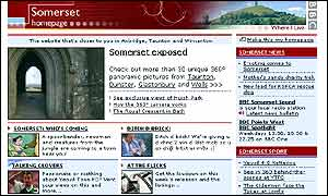 Somerset's Where I Live website
