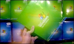 Microsoft's Windows XP system
