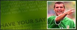 Roy Keane has retired from international football