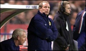 Scotland boss Berti Vogts