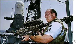 A US Stinger missile system