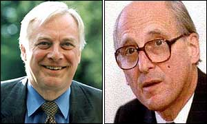 Chris Patten and Lord Bingham