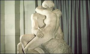 Rodin's 'The Kiss'