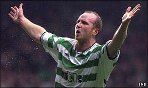 John Hartson in more celebratory mood