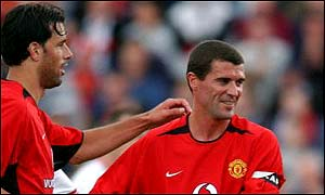 Man Utd claim Keane could have quit club football