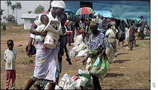 Liberian refugees
