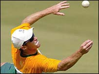Jonty Rhodes in action