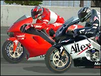 MotoGP racing game
