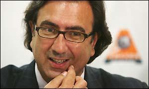 Soccer Australia boss Remo Nogarotto
