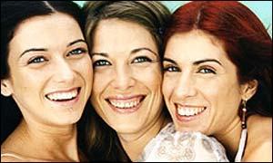 Pilar, Lola, and Lucia