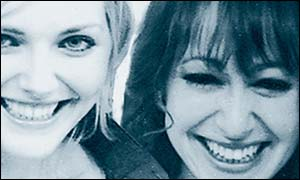 Sophie Dahl and Anne Morris