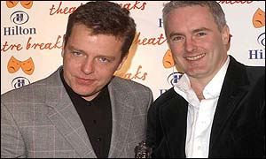 Suggs and Tim Firth