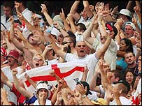 England's fans have followed them from Australia to South Africa