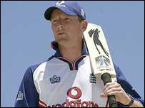 Paul Collingwood in the nets