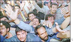 Iraqi refugees in 1991