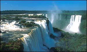 Foz da Iguacu, in Parana state, southern Brazil