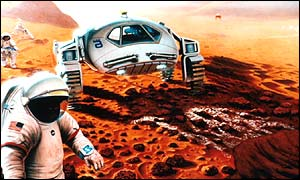 Mars might one day support life (BBC)