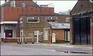 Thortons factory in Belper