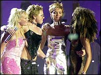 Spice Girls at the 2000 Brits