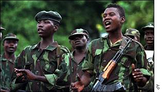 Young Congolese rebels