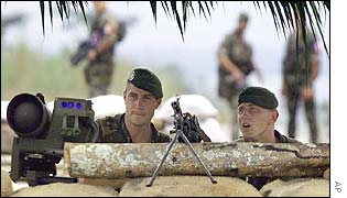 French troops in Ivory Coast
