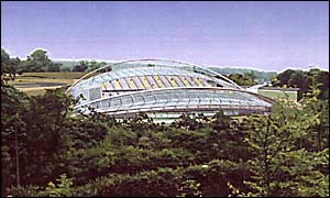 The planned stadium at Village Way North in Falmer