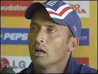 England captain Nasser Hussain