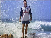 England batsman Michael Vaughan
