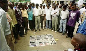 Kinshasa residents