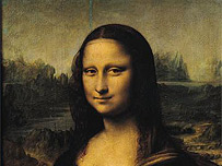 Detail from the Mona Lisa