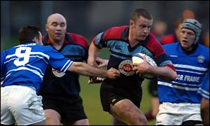 Jason White in action for Glasgow