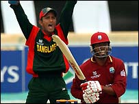 Lara made 46 against Bangladesh